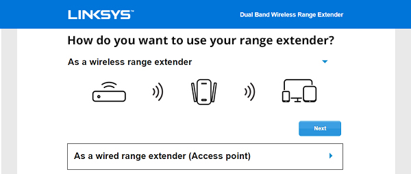 Linksys Extender Setup RE6500 And Configuration